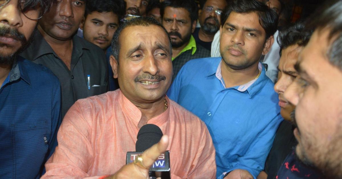 CBI books MLA Kuldeep Singh Sengar, 10 others in car crash involving Unnao rape complainant