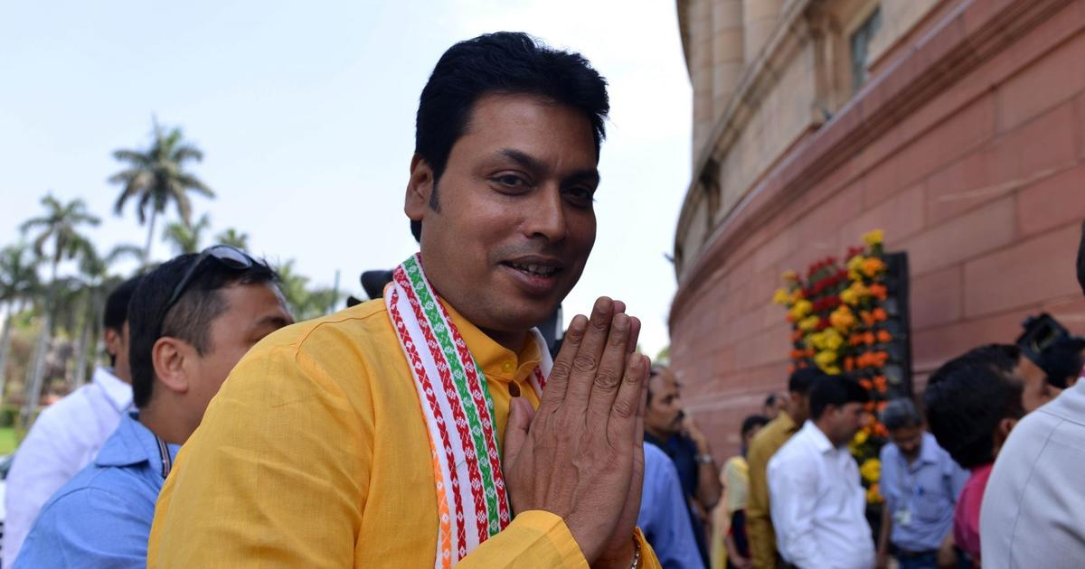 Facebook user who spread fake news of Tripura CM's divorce sent to three-day police custody