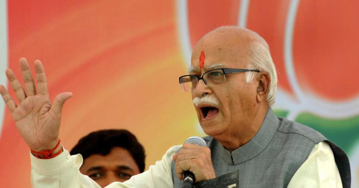 Full text: LK Advani says BJP has never regarded those who disagree with it as 'anti-national'