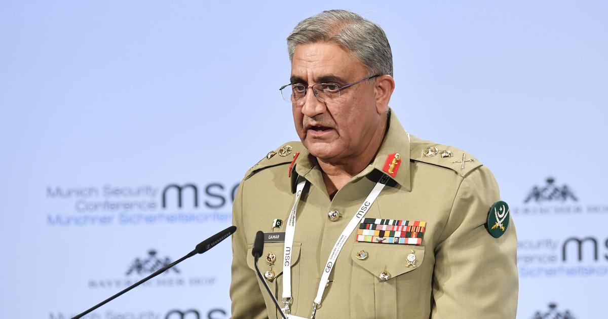 Pakistan Army chief says should solve Kashmir dispute with India in 'dignified, peaceful' manner