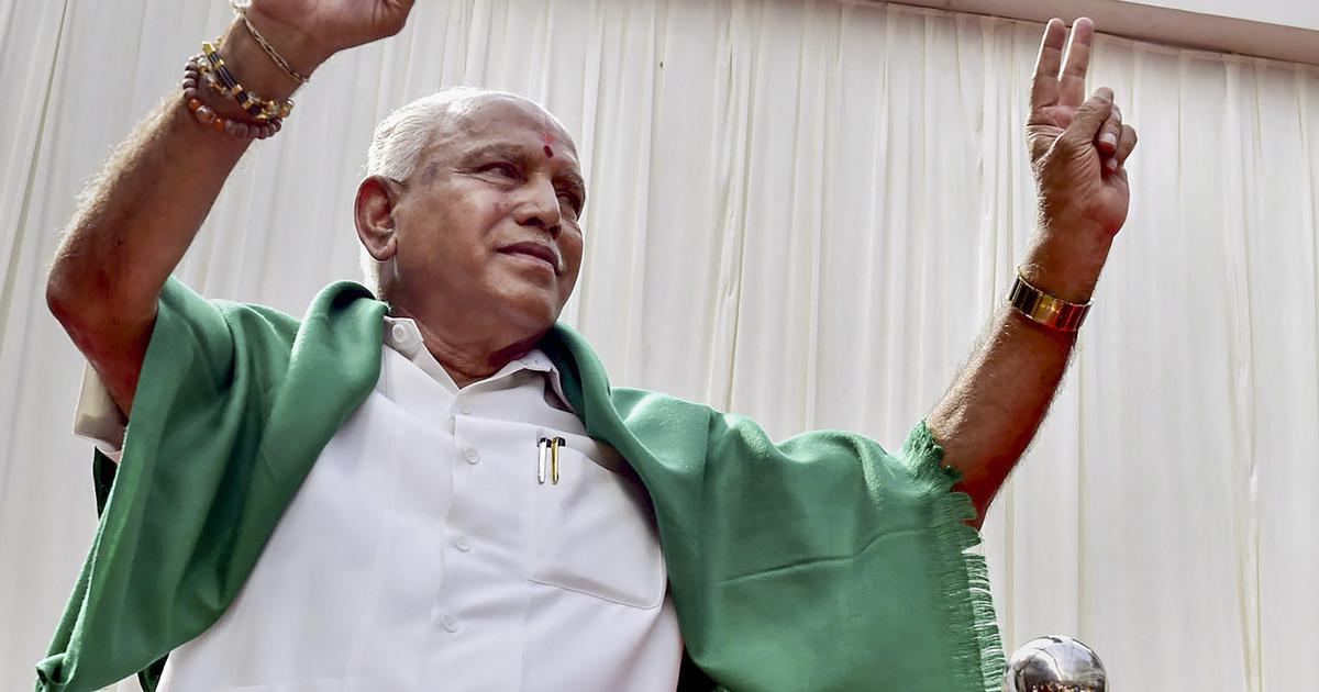 As BJP looks set to sweep Karnataka, state party chief says people have punished the Congress
