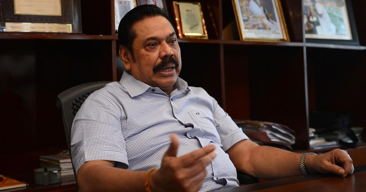Sri Lanka political crisis: PM Mahinda Rajapaksa says fresh elections needed to restore stability