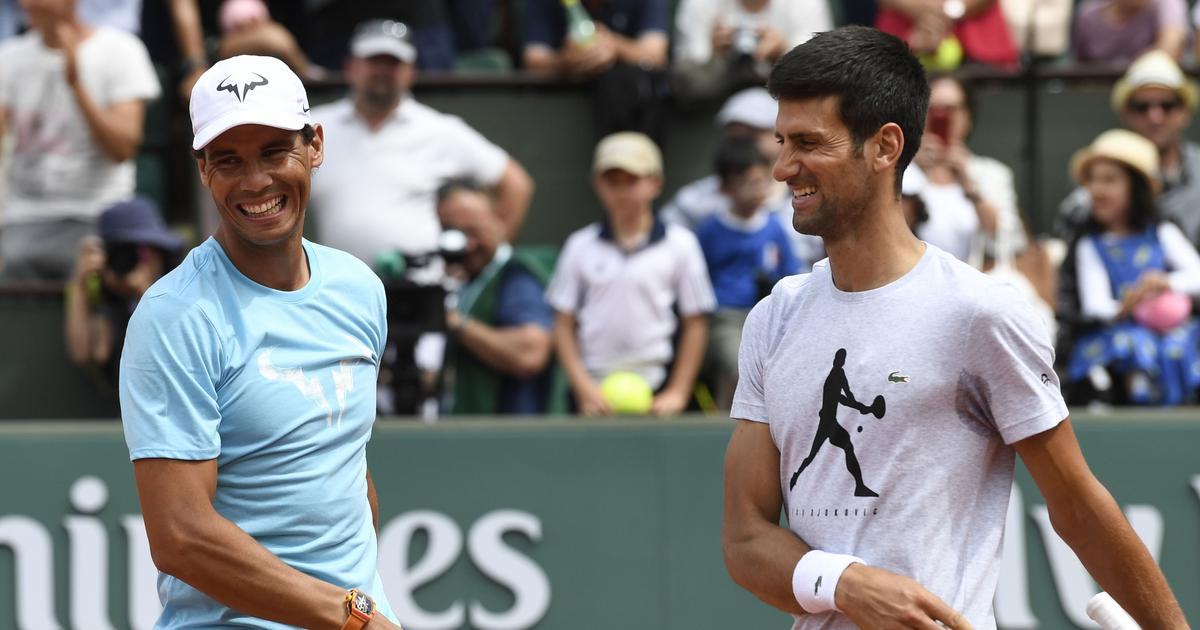 Watch: Djokovic and Nadal face each other in 'fun, intense' practice session ahead of Paris Masters