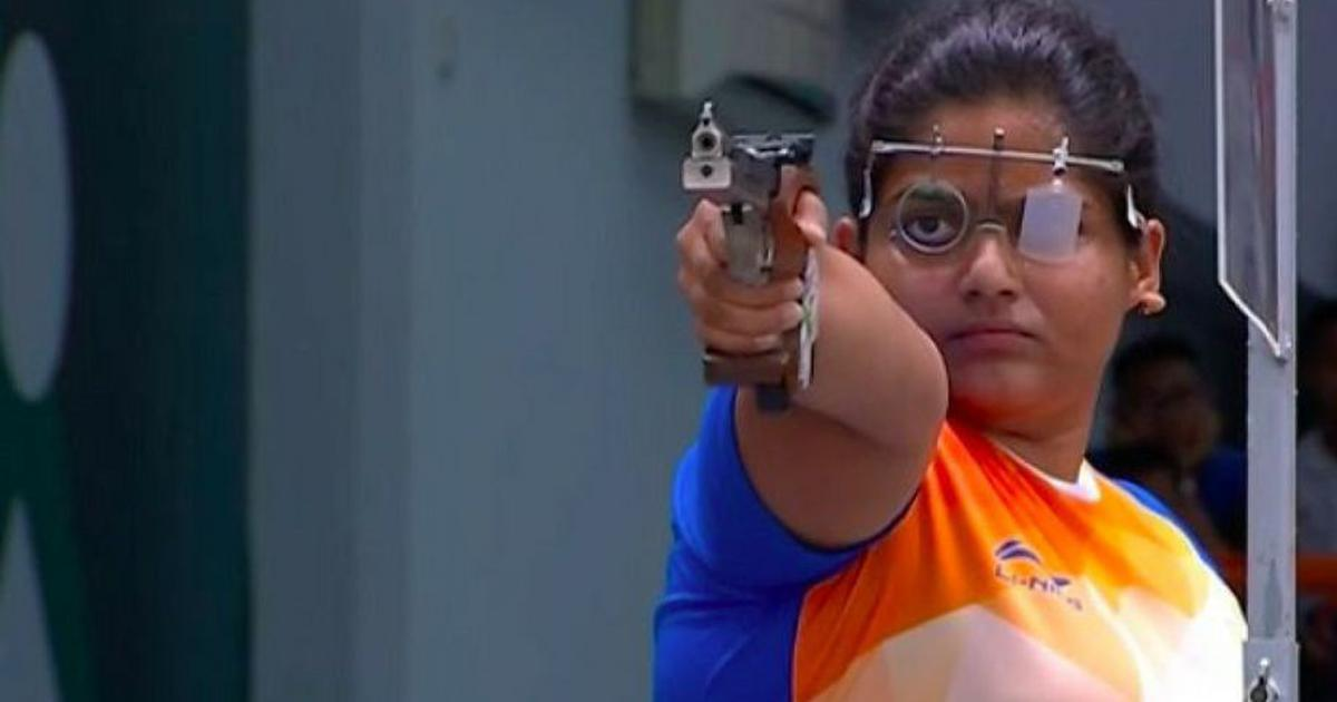 Shooting World Cup: Manu Bhaker, Rahi Sarnobat qualify for 25m pistol final, Olympic quota at stake