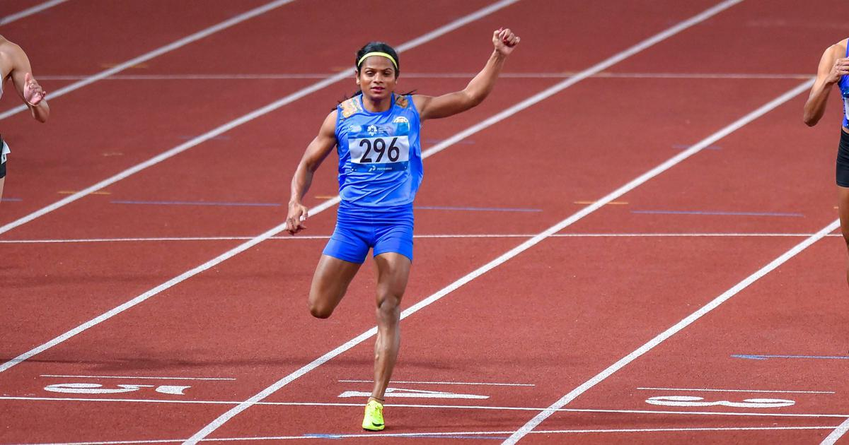 After 100m gold, Dutee Chand finishes fifth in 200m final at World University Games