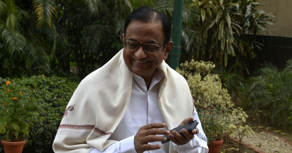 Centre trying to 'capture' RBI to tide over its fiscal crisis says P Chidambaram