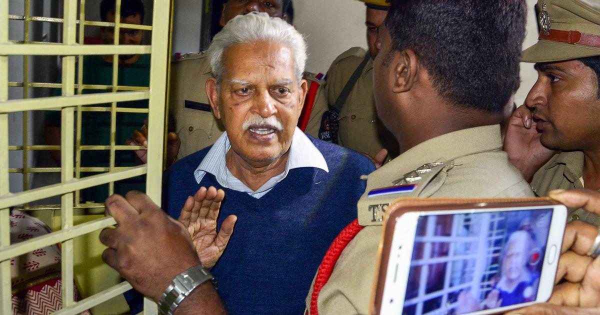 Varavara Rao does not have dementia, send him back to prison, NIA tells Bombay HC
