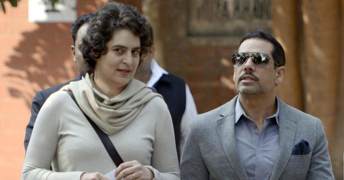 'Extremely disturbed': Robert Vadra criticises UP Police for allegedly shoving Priyanka Gandhi
