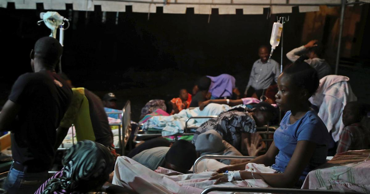 Toll in Haiti earthquake goes up to 14, aftershock strikes a day later