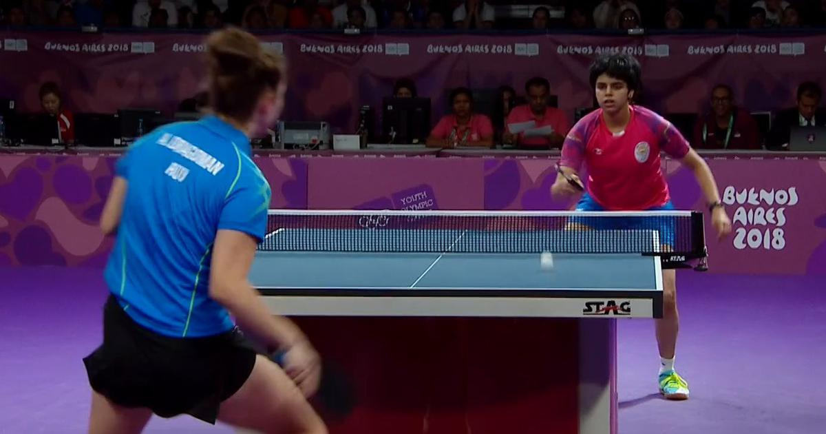 Youth Olympic Games table tennis: Archana Kamath's brilliant run comes to an end, finishes fourth