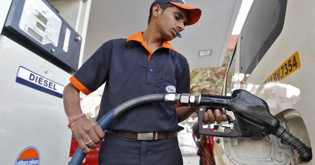 Fuel prices highest in over a year as rates revised for ninth consecutive day