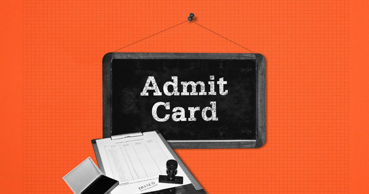 Image result for SSC CGL ADMIT CARD