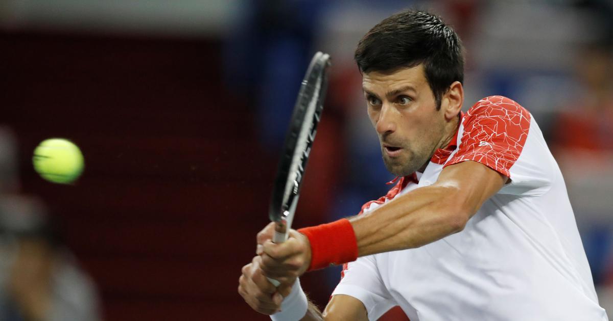 Unstoppable Novak Djokovic routs Alexander Zverev to reach Shanghai Masters final