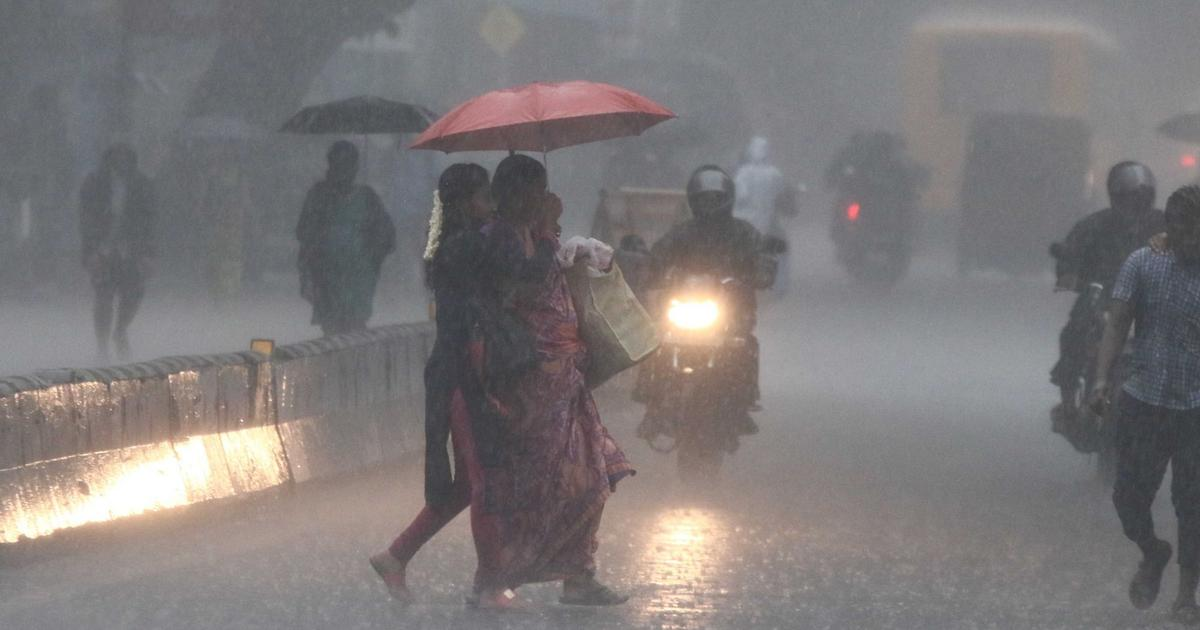 Tamil Nadu: Schools and colleges in Chennai to remain closed on Thursday after heavy rain alert