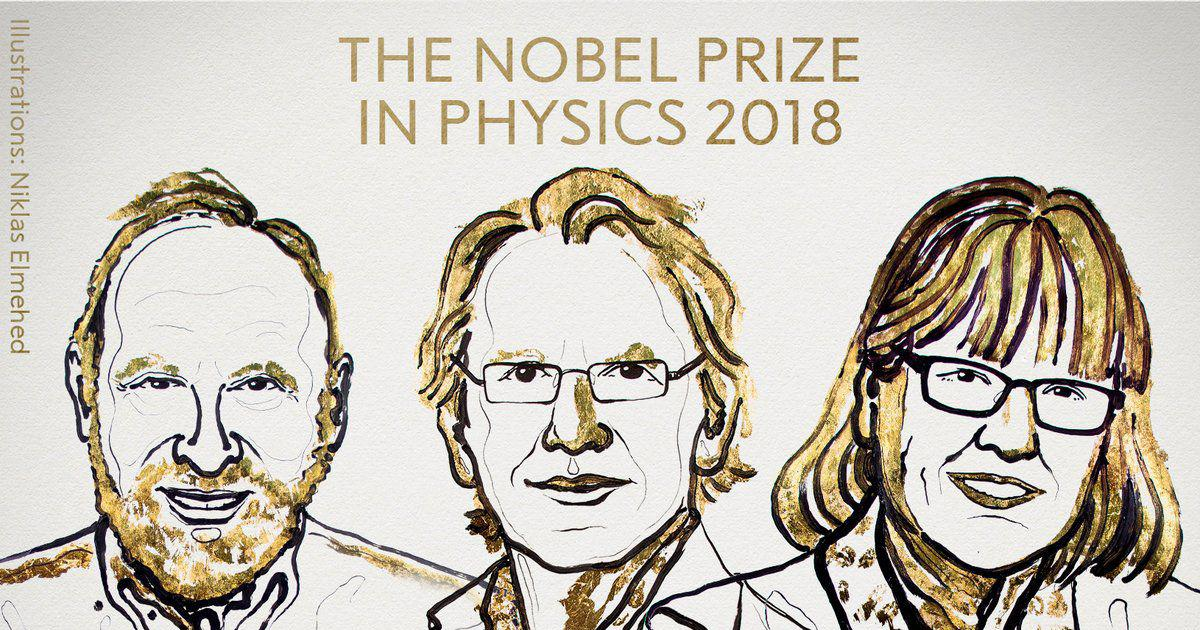First woman wins Physics Nobel prize in 55 years