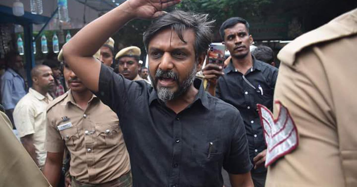 Thirumurugan Gandhi released after captivity