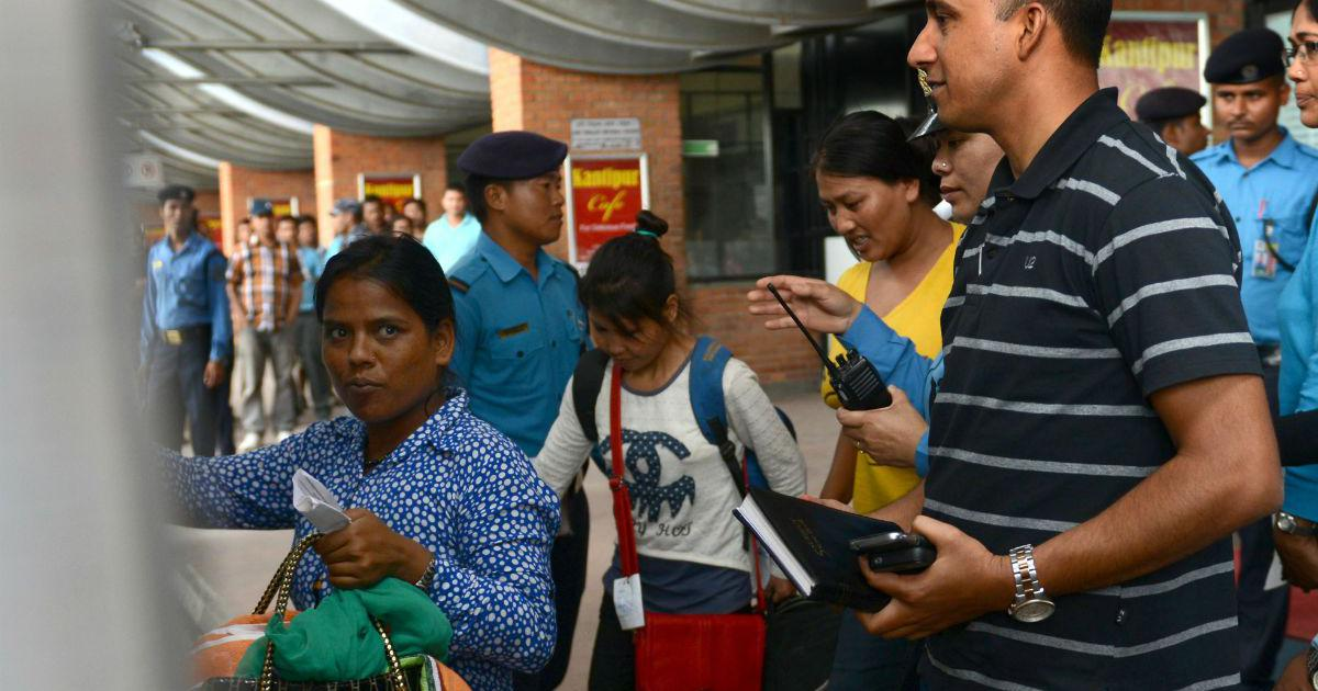 How a few volunteers at Bagdogra airport are helping curb trafficking of Nepalese women