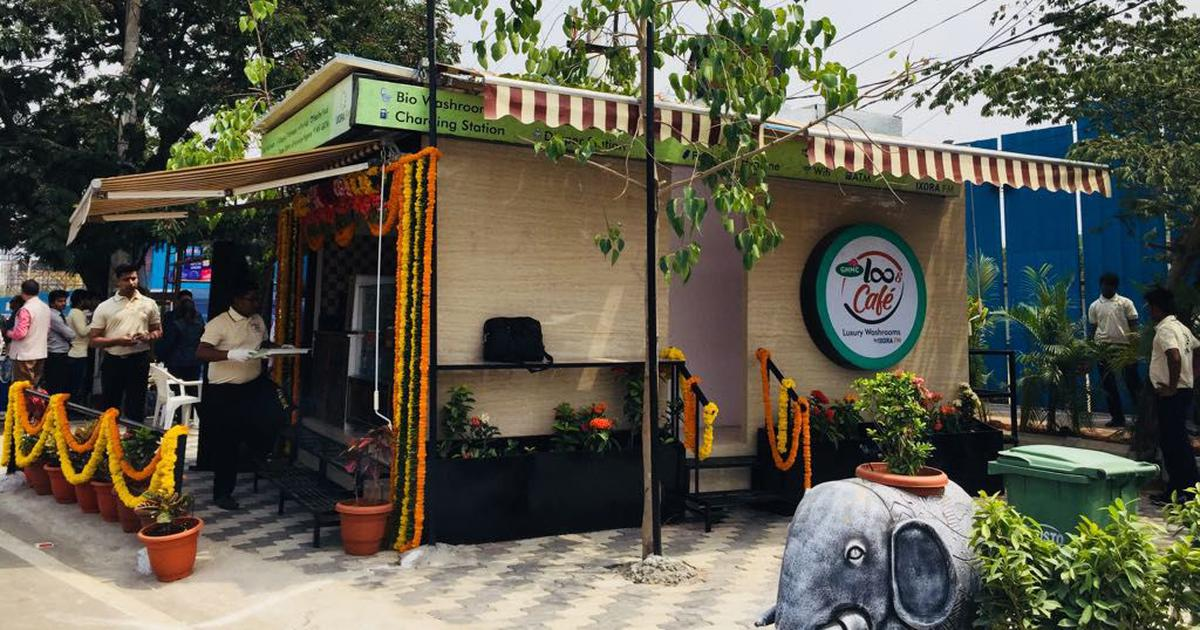In Hyderabad, a Loo Café is challenging the poor perception of Indian public toilets