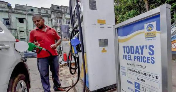 Petrol prices increased by Rs 6.55 per litre in 12 days, diesel rates rose by Rs 7.04