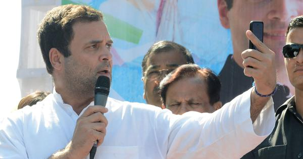 Rahul Gandhi accuses Modi government of interfering in CBI, Election Commission and RBI