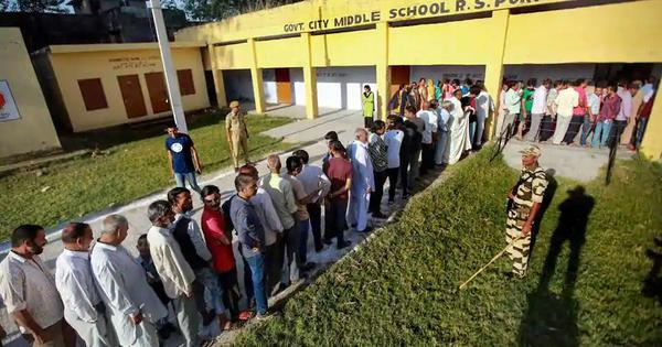 Top news: Final phase of civic body polls under way in Jammu and Kashmir
