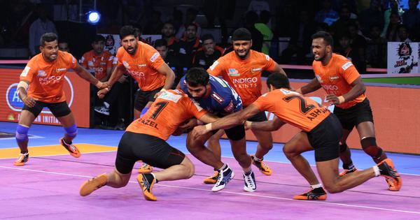 Pro Kabaddi: U Mumba remain unbeaten with 53-26 win over Haryana Steelers