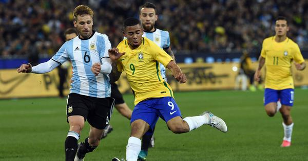 Argentina must beat Brazil despite Lionel Messi's absence, says Sergio Romero