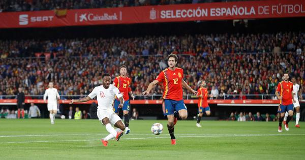Raheem Sterling scores twice as Southgate's impressive England beat Spain 3-2 in Seville