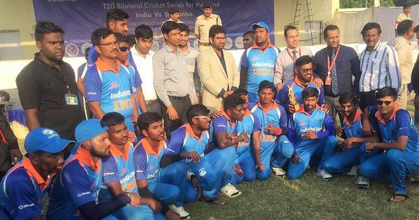 Blind cricket: Ajay Reddy's all-around performance gives India 3-0 lead in Twenty20 series