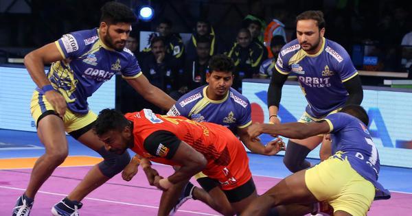 PKL: Bengaluru Bulls beat struggling Tamil Thalaivas 44-35 in southern derby