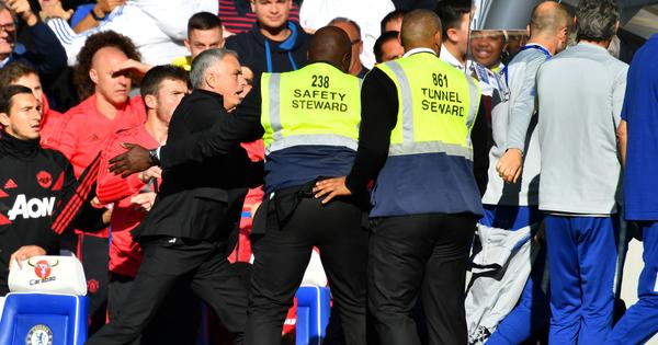 I've made a lot of mistakes in my career: Mourinho plays down touchline fracas against Chelsea