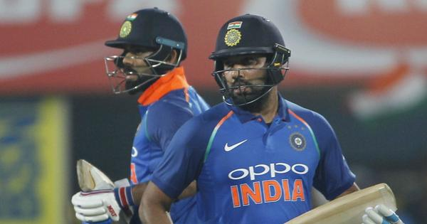 It's never difficult when you have Rohit Sharma at the other end, says Virat Kohli
