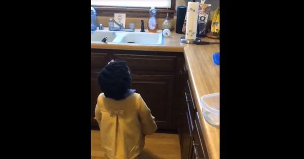 Watch: Young girl makes repeated efforts to get Alexa to play her favourite song (and gives up)