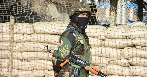 Four soldiers injured in grenade attack in J&K's Kulgam district