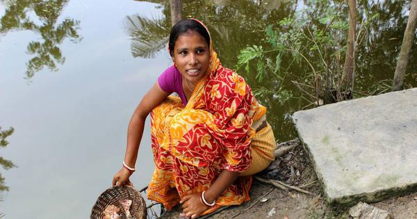 Climate change is making sea water in the Sunderbans saltier, putting women at risk