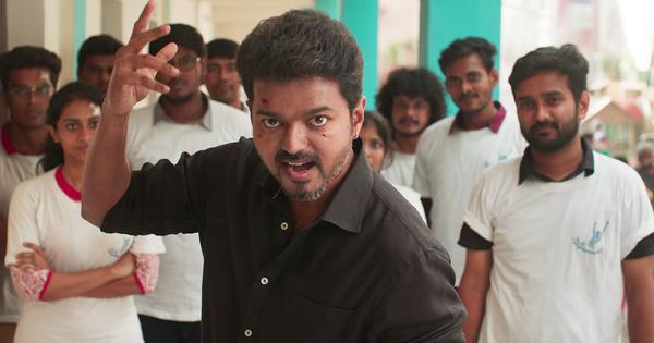 Tamil movie star Vijay's career has always been about punches and punch dialogue