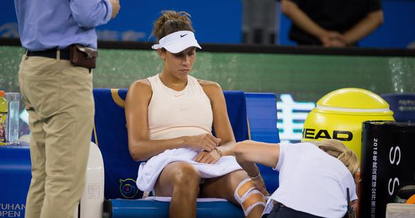 Tennis: Injured Madison Keys pulls out of WTA Elite trophy semifinal