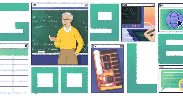 Google honours Michael Dertouzos, a computer scientist who foresaw the impact of the internet