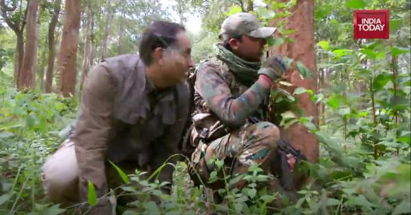 How India Today's Rahul Kanwal survived a battle between Maoists and the CRPF in Chhattisgarh