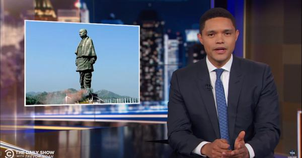 Watch: Even Trevor Noah finds the  new statue of Vallabhbhai Patel baffling