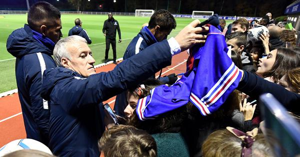 Football: France coach Deschamps slams Paris Saint-Germain, says racial profiling 'unacceptable'