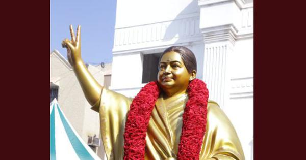 Chennai: AIADMK unveils new Jayalalithaa statue after criticism that earlier one didn't resemble her