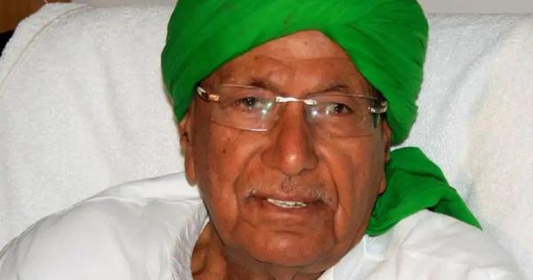Indian National Lok Dal chief Om Prakash Chautala expels elder son from party