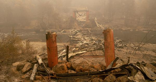 California wildfires: Toll rises to 58, at least 130 people are still missing
