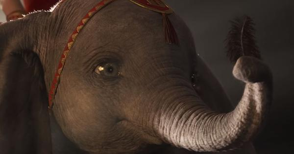 'Dumbo' trailer: Disney's big-eared elephant soars again in Tim Burton's remake