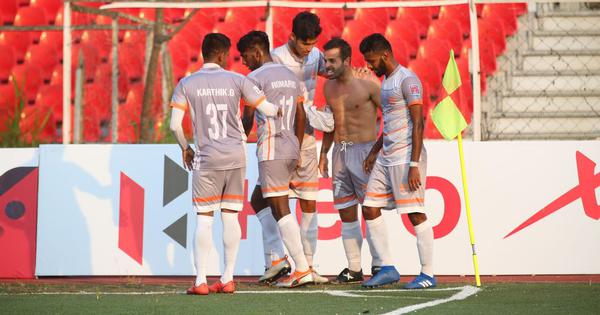 I-League: Sandro scores twice in table-toppers Chennai City FC's 2-1 away win against Aizawl
