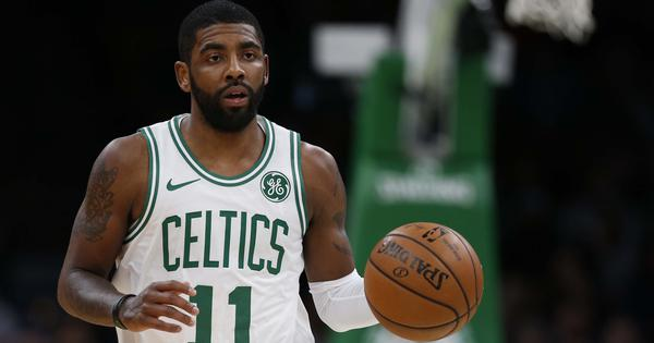 Watch: Kyrie Irving scores 43 as Boston Celtics make a statement by beating Toronto Raptors