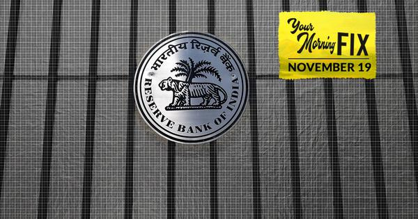 Your Morning Fix: Will today be a 'day of reckoning' for the Reserve Bank of India?