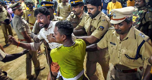 Sabarimala: State government has turned temple complex into war zone, says Union minister KJ Alphons
