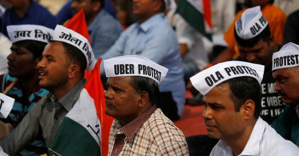 Mumbai: Ola and Uber drivers stopped from marching to Vidhan Bhavan, union leaders detained
